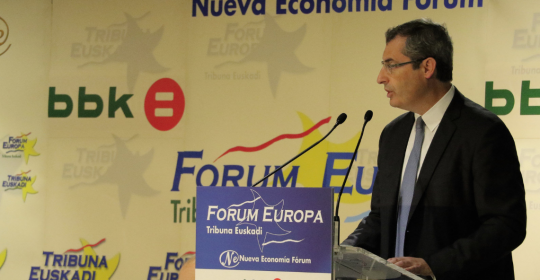 La situación y los retos de Gipuzkoa (Discurso para Nueva Economía Fórum )